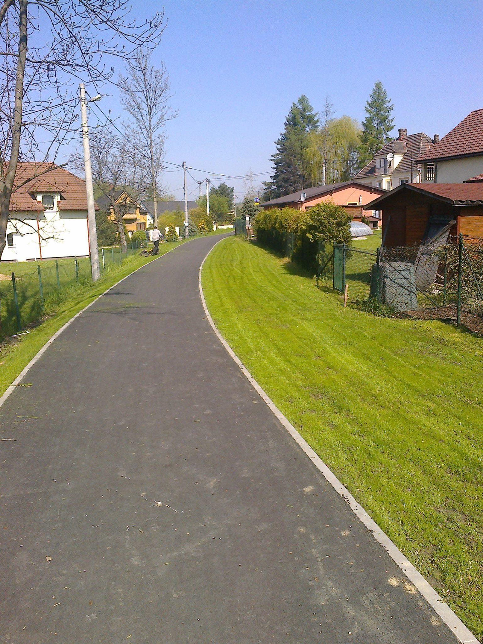 Založení travních ploch Ostrava-Radvanice